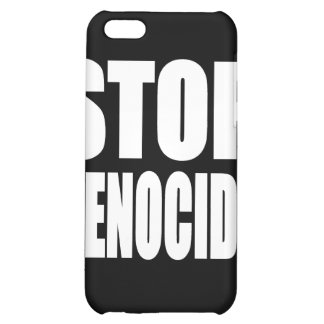 Stop Genocide. Protest Message. Cover For iPhone 5C