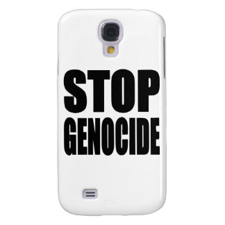 Stop Genocide. Spead The Message Samsung Galaxy S4 Cover