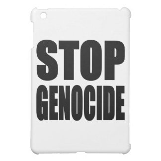 Stop Genocide. Spead The Message iPad Mini Cases
