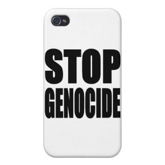 Stop Genocide. Spead The Message iPhone 4/4S Cover