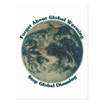 Stop Global Dimming Post Cards