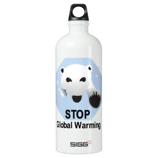 Stop Global Warming 32 oz. SIGG Traveler 1.0L Water Bottle