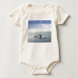 Stop Global Warming - Baby Jumpers Baby Bodysuit