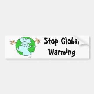 Stop Global Warming Bumper Sticker