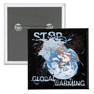 Stop Global Warming Pin