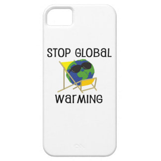 Stop Global Warming iPhone 5 Cases