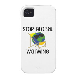 Stop Global Warming iPhone 4/4S Cases