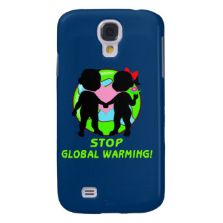 Stop Global Warming Galaxy S4 Case