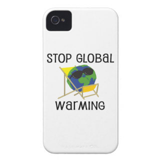 Stop Global Warming iPhone 4 Cover