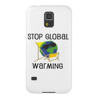 Stop Global Warming Galaxy S5 Covers