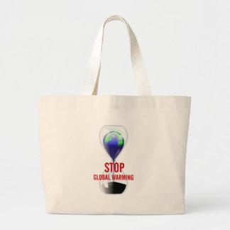 Stop Global Warming Hourglass Bag