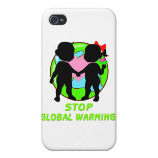 Stop Global Warming iPhone 4 Covers