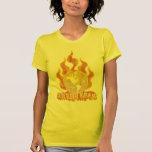 Stop Global Warming Ladies Basic T-Shirt