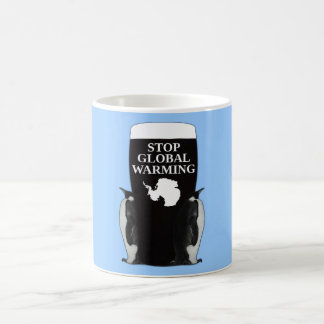 Stop global warming magic mug