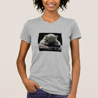 Stop Global Warming Polar Bear Shirt