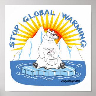 Stop Global Warming Poster
