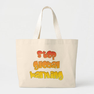 Stop Global Warming products! Tote Bags
