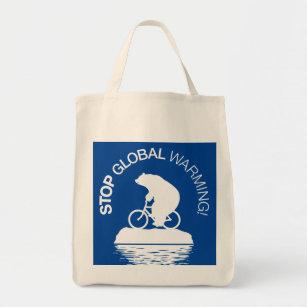 Stop Global Warming: Reusable Grocery Bag