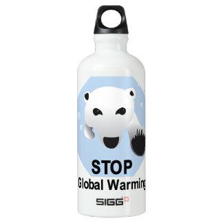 Stop Global Warming SIGG Traveler 0.6L Water Bottle