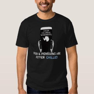 Stop global warming tee shirt