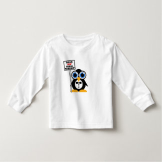 stop global warming toddler t-shirt