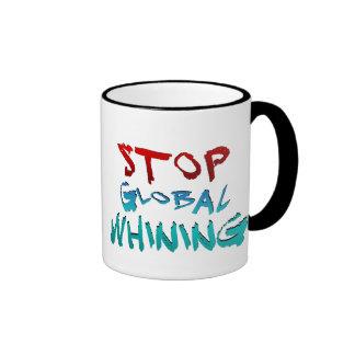 Stop Global Whining Ringer Mug