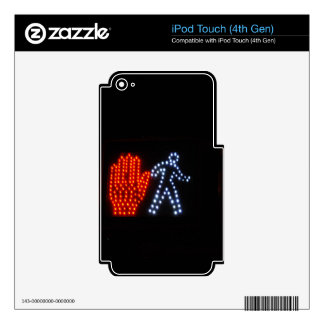 Stop Go iPod Touch 4G Decals