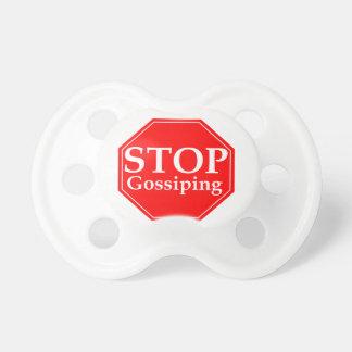 Stop Gossiping Pacifier
