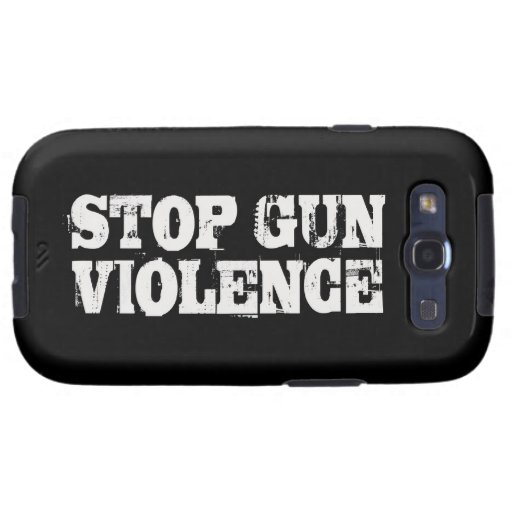 Stop Gun Violence Galaxy SIII Cover