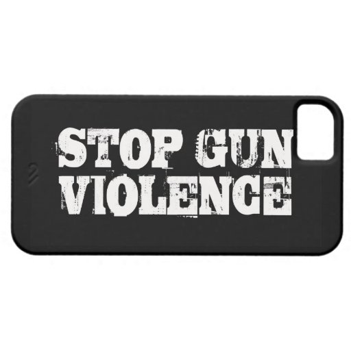 Stop Gun Violence iPhone 5 Case