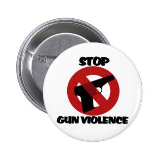 Stop Gun Violence Pinback Button