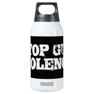 Stop Gun Violence 10 Oz Insulated SIGG Thermos Water Bottle