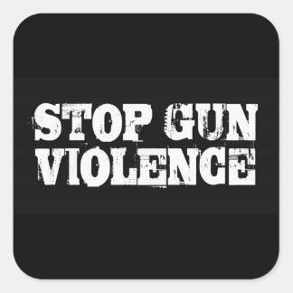 Stop Gun Violence Square Sticker