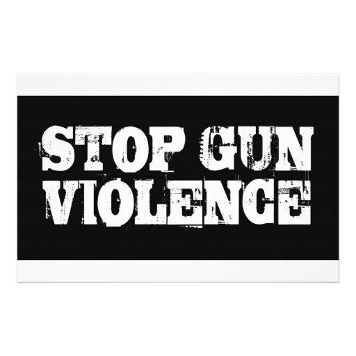 Stop Gun Violence Stationery
