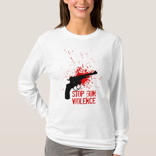 stop gun violence T-Shirt