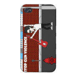 Stop Gun Violence With Julian Rhine Phone Case Case For iPhone 4