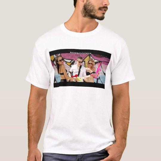 Stop Gun Violence with Julian Rhine T-Shirt