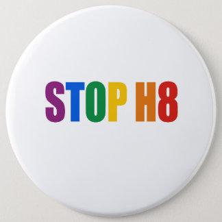 STOP H8 PINBACK BUTTON
