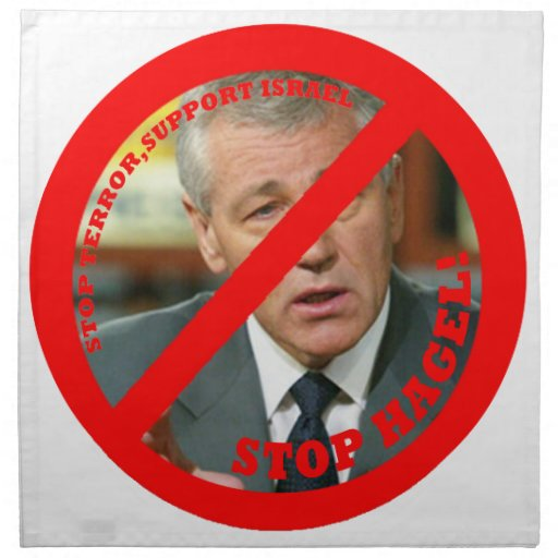 Stop Hagel!! Napkins