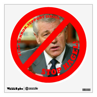 Stop Hagel!! Wall Sticker