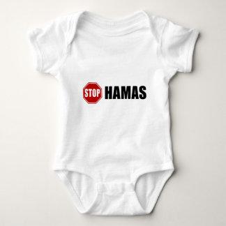 Stop Hamas Baby Bodysuit