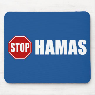 Stop Hamas Mouse Pad