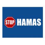 Stop Hamas Postcards