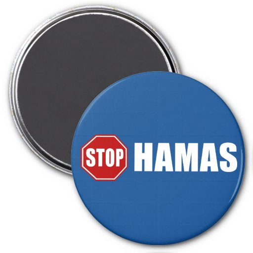 Stop Hamas Refrigerator Magnets