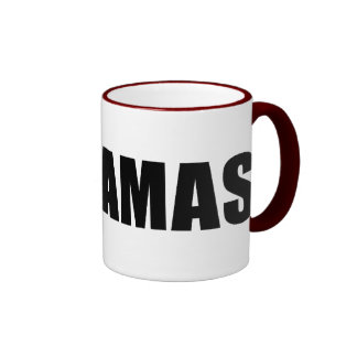 Stop Hamas Ringer Coffee Mug