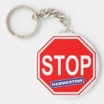Stop Hammertime Keychains