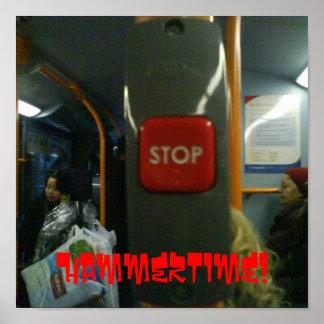 Stop, Hammertime! Poster