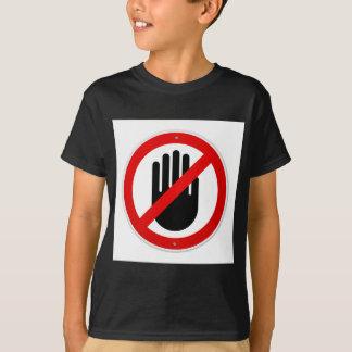 Stop Hand Symbol T-Shirt
