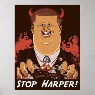 Stop Harper! Big Poster