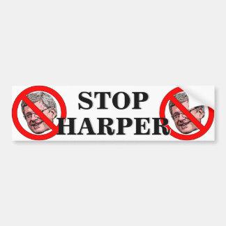 Stop Harper Bumper Sticker